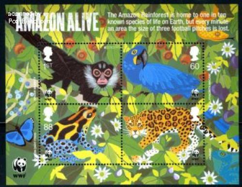 WWF, Amazon alive 4v m/s