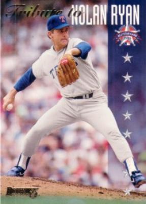 Nolan Ryan 1995 Donruss All-Star FanFest promo card