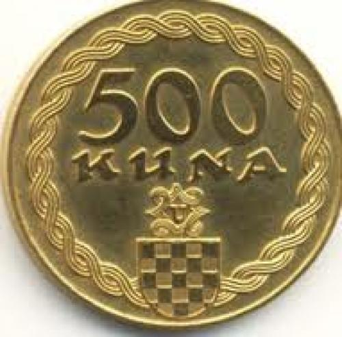 Coins; Croatia 500 kuna