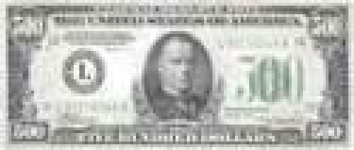 500 Dollars; Older and limited circulation banknotes