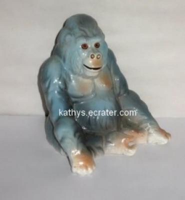 Willetts Ringling Bros 1988 Sitting Gorilla Animal Figurine