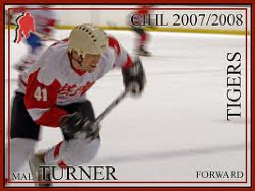 Hockey cards in Hockey; Mal Turner;Tigers;Forward