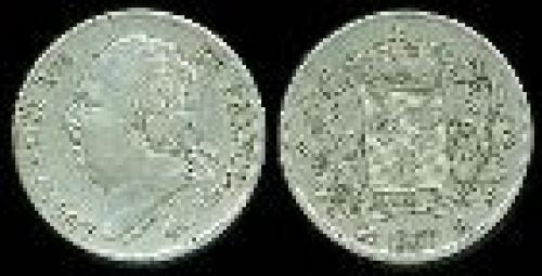 2 francs; Year: 1816-1824; (km 710)
