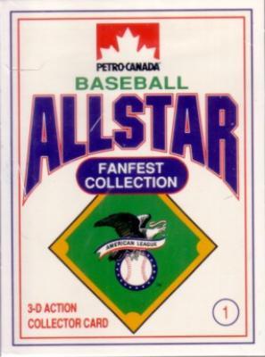 1991 Petro-Canada All-Star FanFest 26 card set (Ken Griffey Jr. Cal Ripken Nolan Ryan)