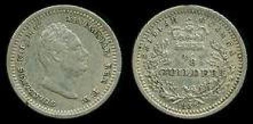1/8 guilder 1836 (km 22)