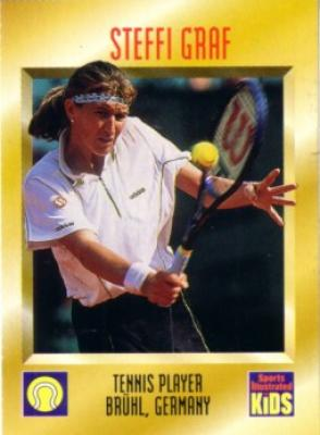 Steffi Graf 1997 Sports Illustrated for Kids card