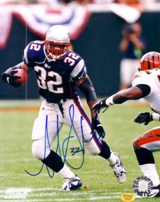 Antowain Smith autographed 8x10 New England Patriots photo