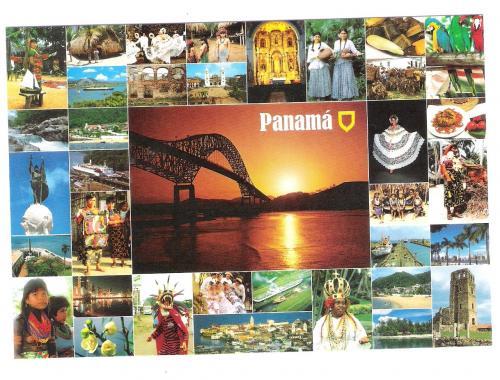 POSTCARD  PANAMA