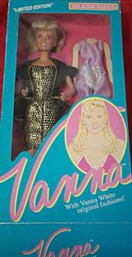 Dolls; Limited Edition Vanna White Doll 1990