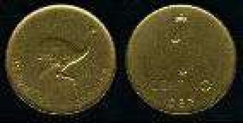 1 Centavo; Year: 1986-1987; (km 96.2); bronce; ÑANDU (gruesa)