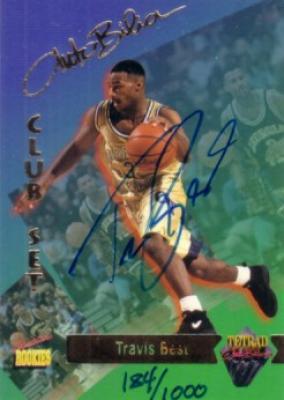 Travis Best certified autograph Georgia Tech 1995 Signature Rookies card