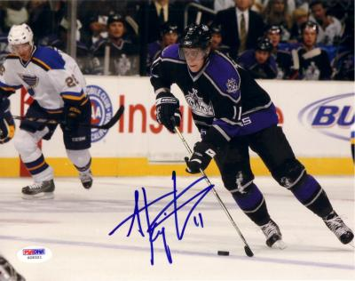 Anze Kopitar autographed Los Angeles Kings 8x10 photo