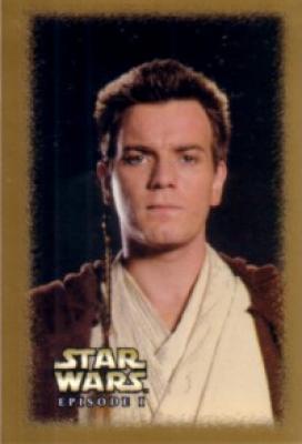Obi-Wan Kenobi Star Wars Episode I mini decal or sticker