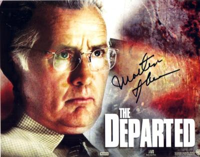 Martin Sheen autographed 8x10 Departed photo