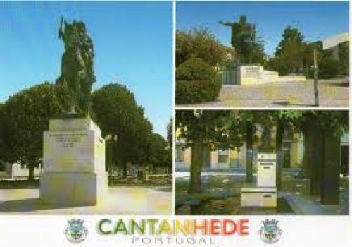 Portugal - Cantanhede. Statue of D. Antonio Luiz de Menezes; Postcard