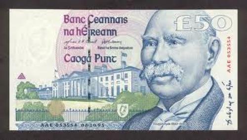 Banknotes; Ireland Republic 50Pounds‑1995