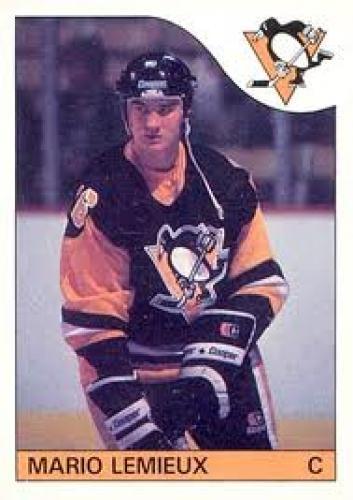 1985 Topps Mario Lemieux #9 Hockey Card