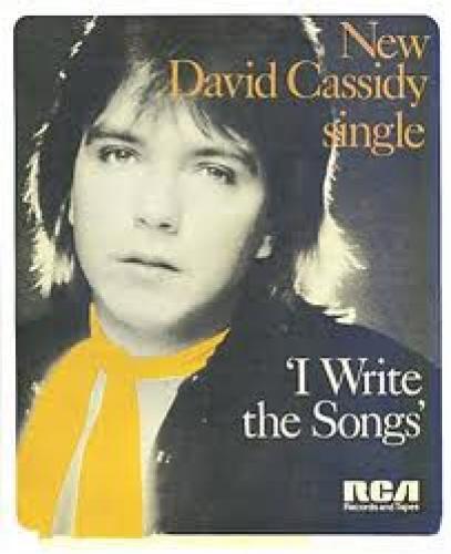 Memorabilia; New David Cassidy Single; I write the song