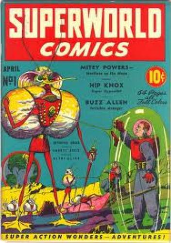 Comics; Golden Age Comics 1939