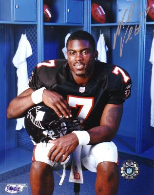 Michael Vick autographed Atlanta Falcons 8x10 photo
