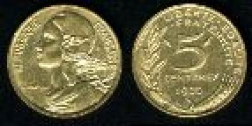 5 centimes; Year: 1966-2001; (km 933)