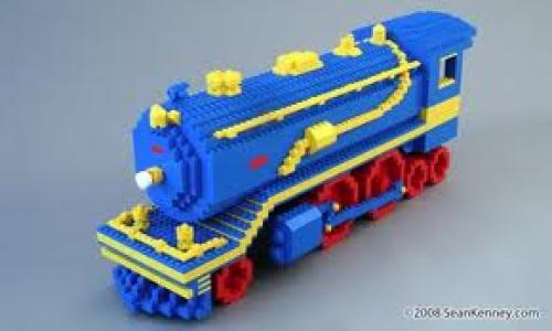 LEGO Steam Train Engine Locomotive
