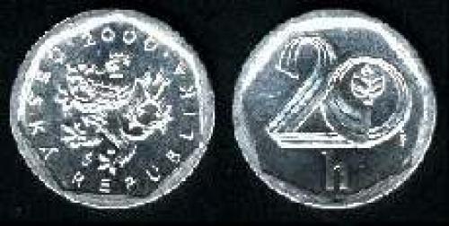20 haleru 2000-2002 (km 2.3)