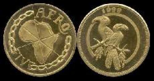 5 afros; Year: 1999; (km x#5); Pair of hornbills