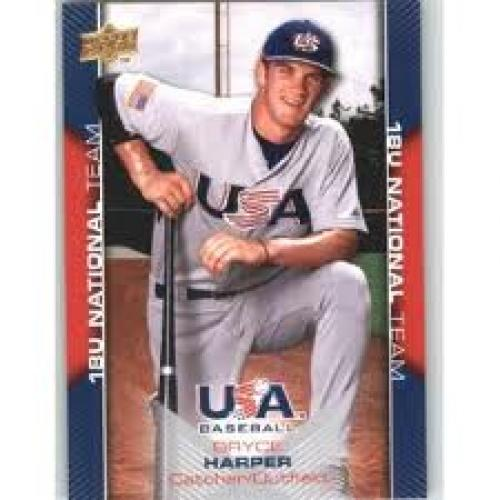 2009-10 Upper Deck USA Baseball Card # USA-30