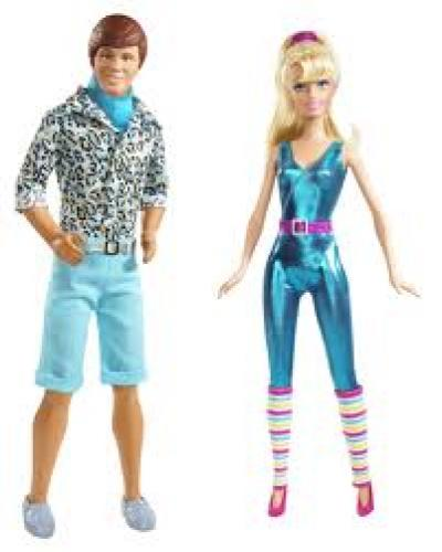 New Ken and Barbie Dolls for the Toy Story 3 Movie