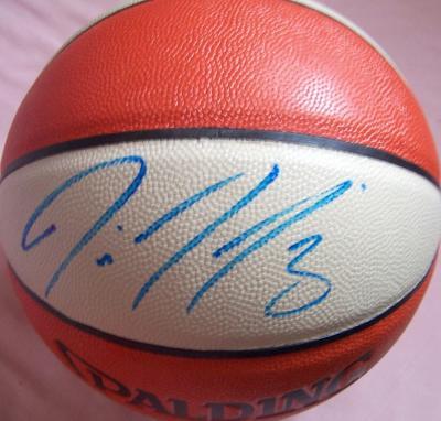 Diana Taurasi (Phoenix Mercury) autographed WNBA indoor/outdoor basketball